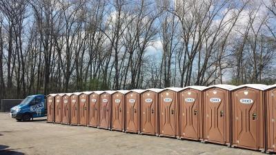 Mobilní toalety DIXI BOX
